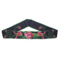 Beaded Rose Choker by Dragon