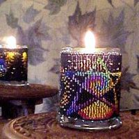 Stardust Candle Holder