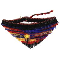 Sunset Fringe Necklace