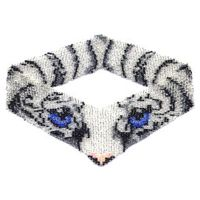 White Tiger Eyesl Weave Necklace by Dragon