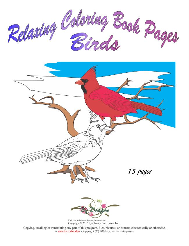 Birds Coloring Pages