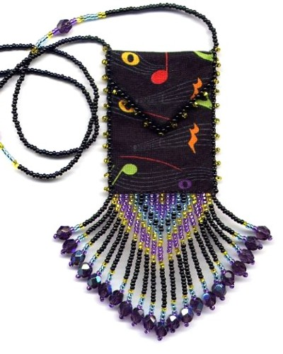 Neon Music Amulet Bag by Dragon