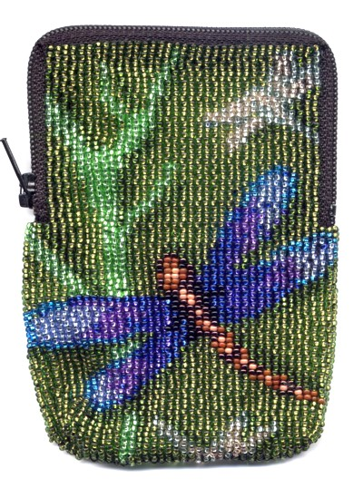 Dragonfly Zipper Bag by Dragon