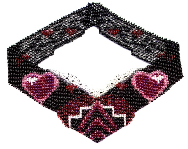 Hearts Weave Necklace by Dragon
