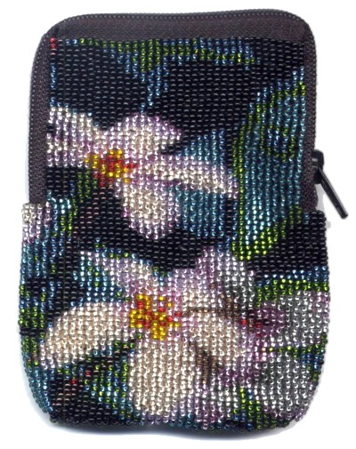 Impatiens Zipper Bag by Dragon