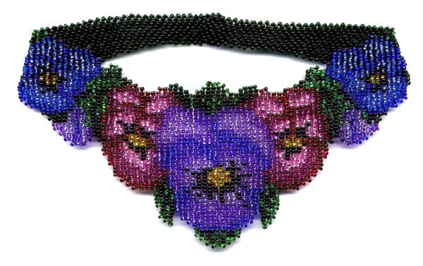 Pansy Weave Necklace by Dragon