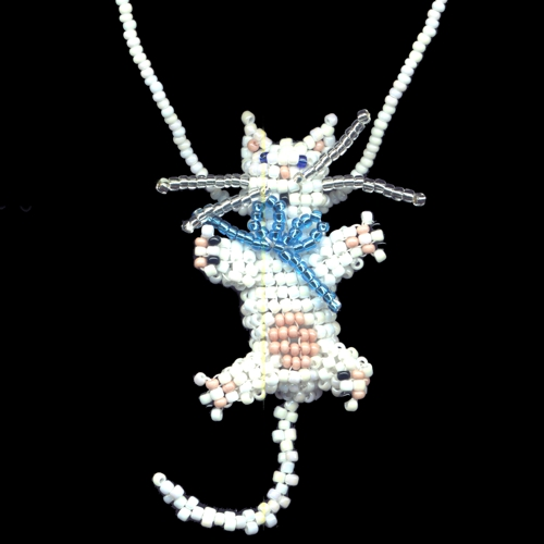 3d Beaded Kitty