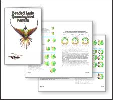 3D Lady Hummingbird