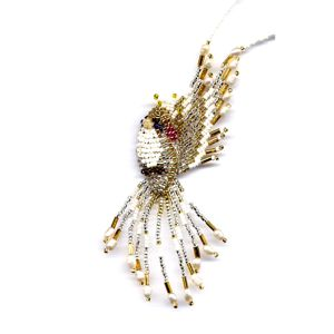 3D Beaded Cockatiel