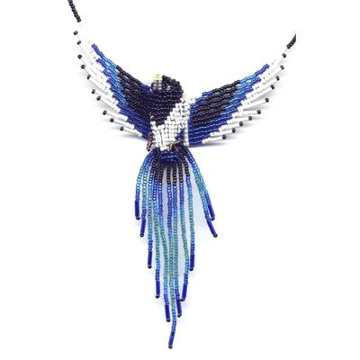 3D Beaded Magpie