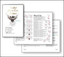 3d Snow Owl Pattern And Kit