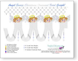 Angel Sweep Christmas Ornament Cover