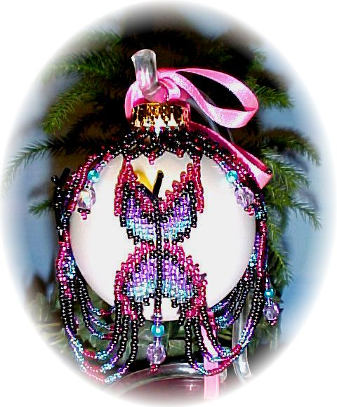 Butterfly Christmas Ornament Cover