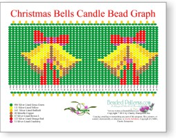 Christmas Bells Candle