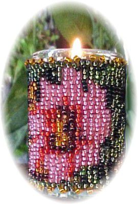 Flowers for Mom Little Candle