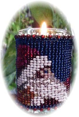 Santa's Hat Christmas Candle