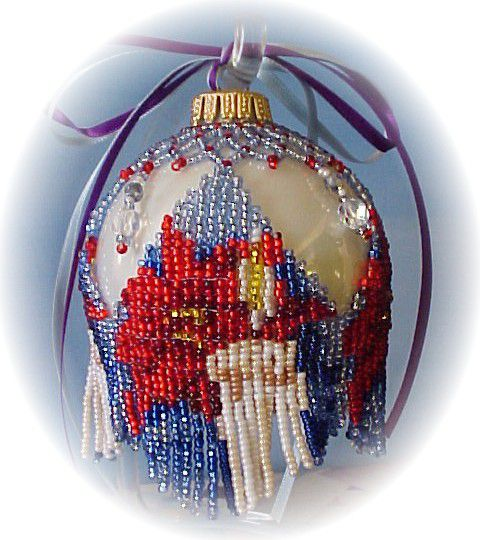 Ponsettia Ornament Cover Pattern and Kit