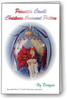 Ponsettia Ornament Cover