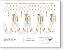 Horns Sweep Christmas Ornament Cover