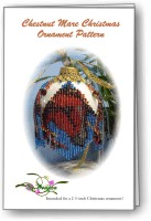 Chestnut Mare Christmas Ornament Cover