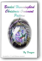 Hummingbird Christmas Ornament Cover