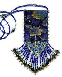 Blue Maple Amulet Bag Pattern & Kit