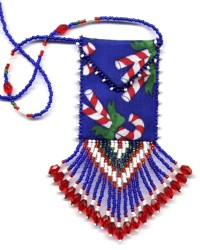 Candy Cane Amulet Bag Pattern & Kit