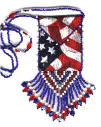 Flag Amulet Bag Pattern & Kit