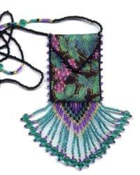 Grape Vine Amulet Bag Pattern & Kit