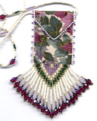 Mauve Amulet Bag Pattern & Kit