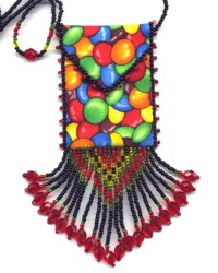 MM Candy Amulet Bag Pattern & Kit