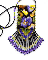 Pansy Mom Amulet Bag Pattern & Kit