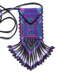 Purple View Amulet Bag Pattern & Kit