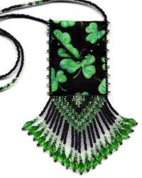 Shamrock Amulet Bag Pattern & Kit