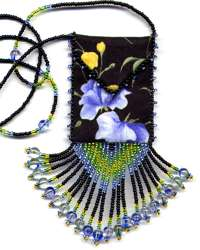 Sweet Pea Amulet Bag Pattern & Kit