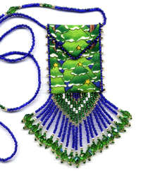 Christmas Trees Amulet Bag Pattern & Kit