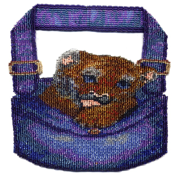 Tiger Pocket with Strap Hand Bag