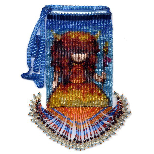 Buffalo Girl Bag with Fringe