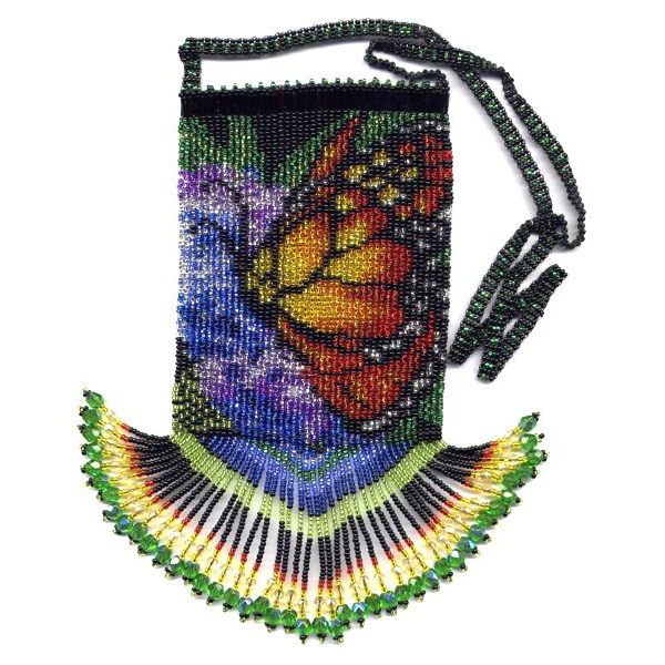 Monarch Butterfly Bag with Strap