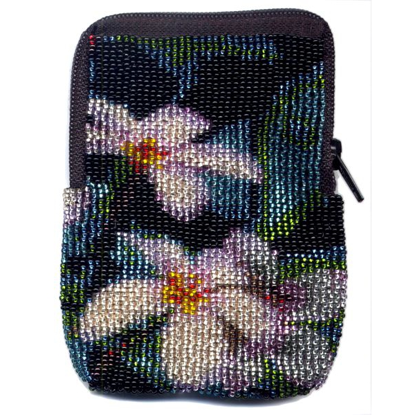 Impatiens Zipper Bag