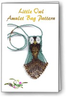 Little Owl Amulet Bag