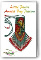 Little Parrot Amulet Bag