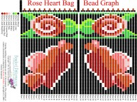 Rose Heart Bag