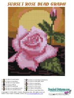Sunset Rose Bag Pattern and Kit