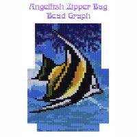 Angelfish Zipper Bag