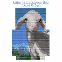Little Lamb Zipper Bag