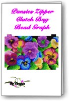 Pansies Clutch