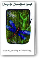 Dragonfly Zipper Bag