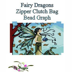 Fairy Dragons Clutch Bag