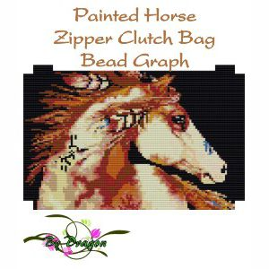 Painted Horse Clutch Bag